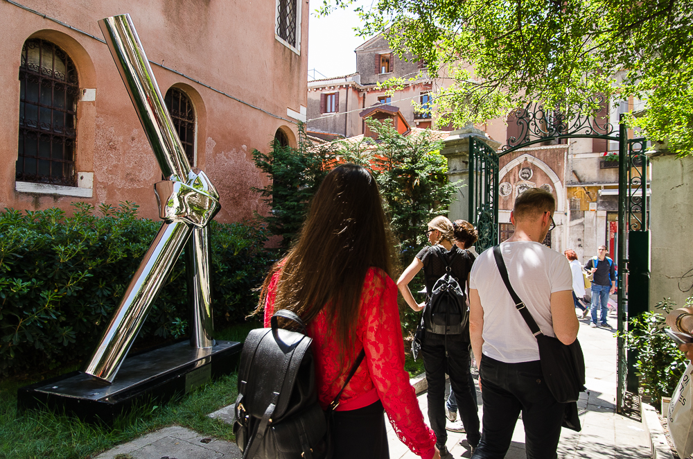 "Beateriz Gerenstein installation, ""The Third Partner"" at the 56 Venice Biennale"